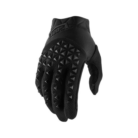 AIRMATIC 100% Glove Black/Charcoal Youth